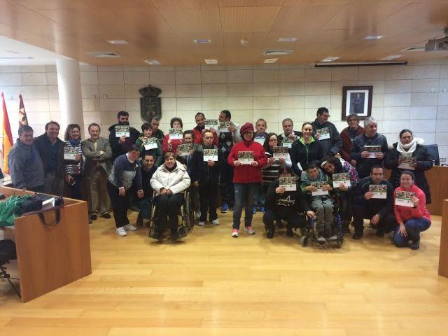 Rueda de prensa de Esprineco, S.L. en la presentacion del calendario de los Centros de Día para la Discapacidad de Totana