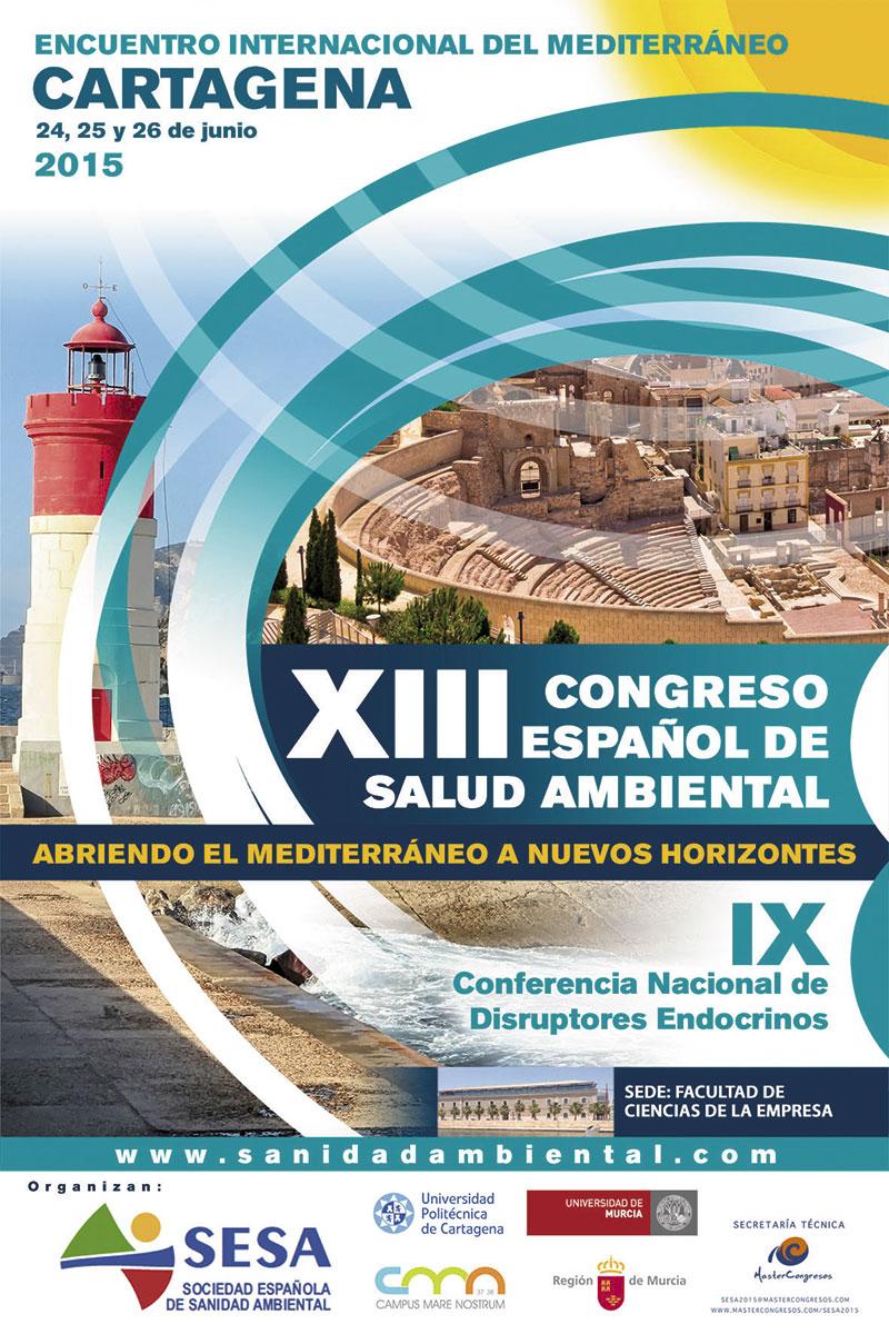 XIII CONGRESO ESPAÃ'OL SANIDAD AMBIENTAL CARTAGENA